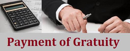 Gratuity Act