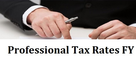 State Wise Professional Tax