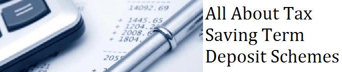 Tax Saver Fixed Deposits