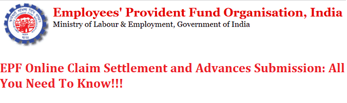 Online withdrawal of EPF and EPS Fund