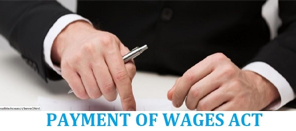 Payment of Wages Act